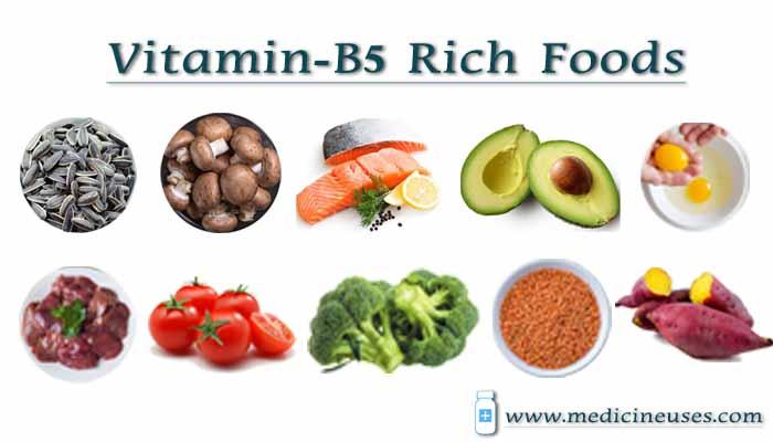 Vitamin B5 Rich Foods