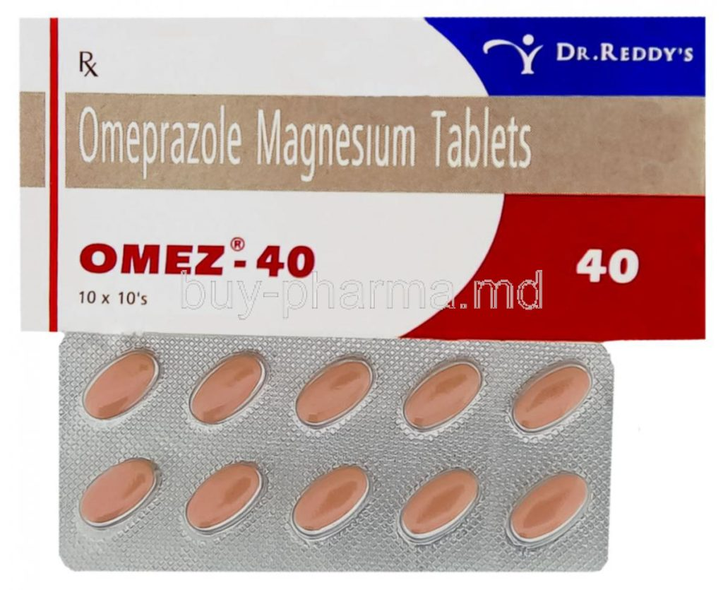28687-Omez-Omeprazole-40-Mg-Tablet-And-Box