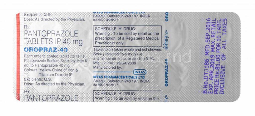 37694-Oropraz-Pantoprazole-40mg-Tablets