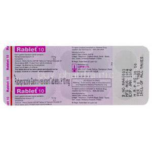 22017-Rablet-10-Generic-Aciphex-Rabeprazole-Sodium-10mg-Tablet-Strip-Information