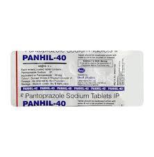 Panhil 40mg Tablet
