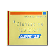Oleanz 2.5mg Tablet