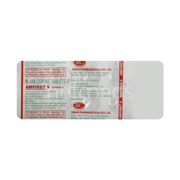 Amfirst 5mg Tablet