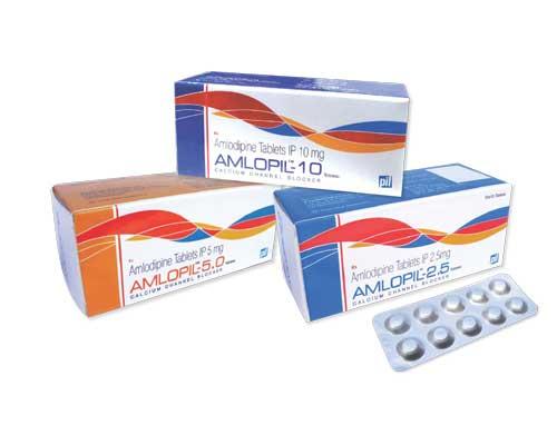 Amlopil 5mg Tablet