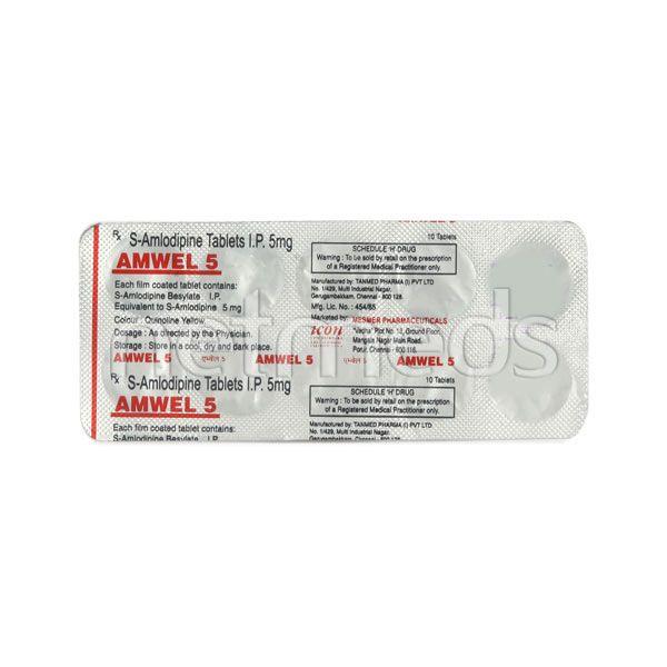 Amwel 5mg Tablet