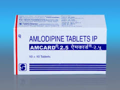 Amcard 2.5mg Tablet