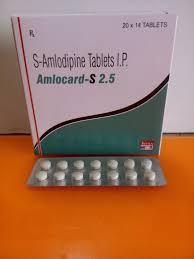 Amlocard 2.5mg Tablet