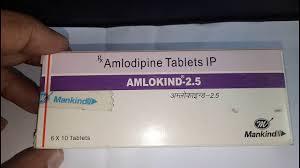 Amlokind 2.5mg Tablet