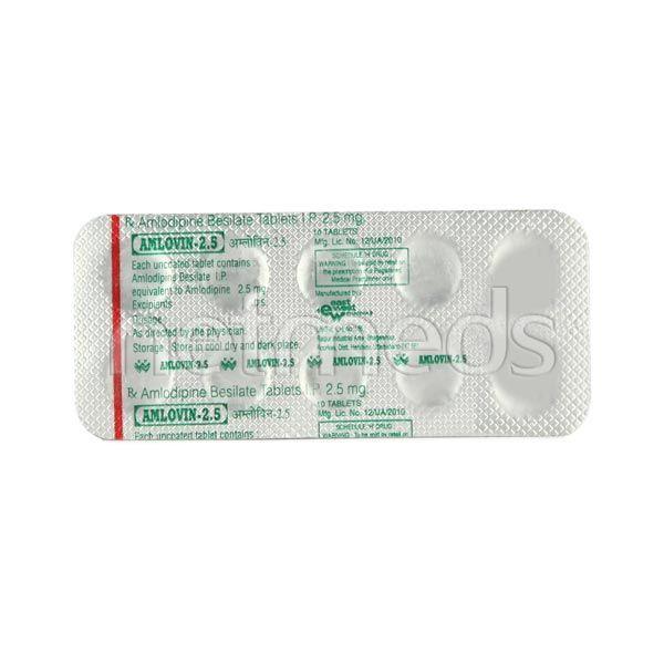 Amlovin 2.5mg Tablet