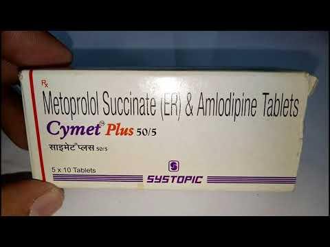 Cymet Plus 50-5mg Tablet