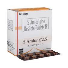 S-Amlong 2.5mg Tablet
