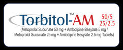 Torbitol AM 50-5mg Tablet