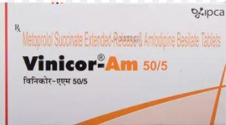 Vinicor AM 50-5mg Tablet