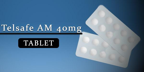 Telsafe AM 40mg Tablet