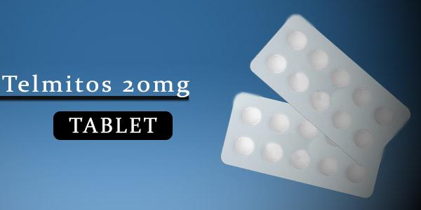 Telmitos 20mg Tablet