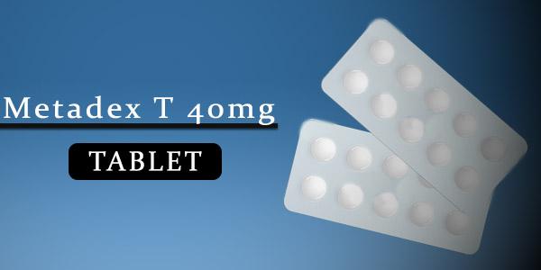 Metadex T 40mg Tablet