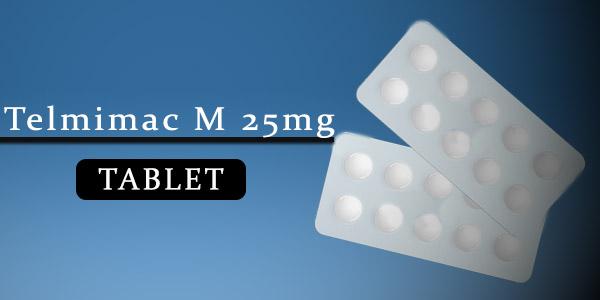Telmimac M 25mg Tablet