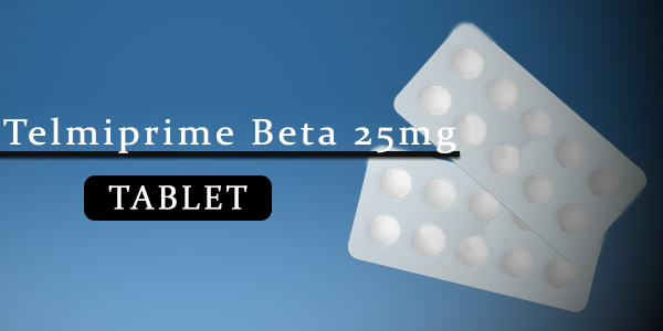Telmiprime Beta 25mg Tablet