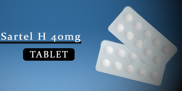 Sartel H 40mg Tablet