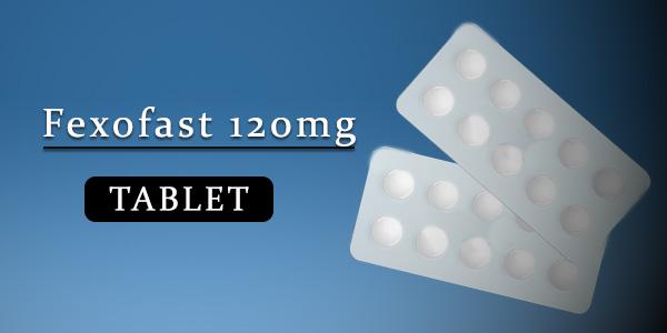 Fexofast 120mg Tablet