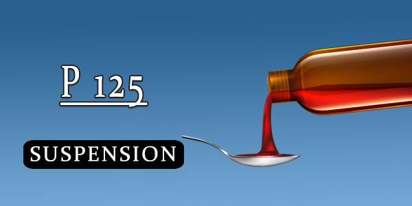 P 125 Suspension