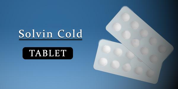 Solvin Cold Tablet