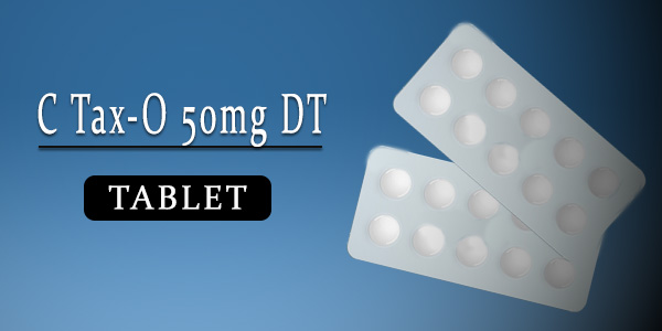 C Tax-O 50mg Tablet DT