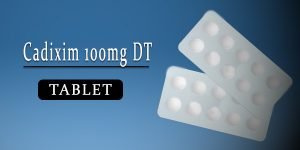 Cadixim 100mg Tablet DT