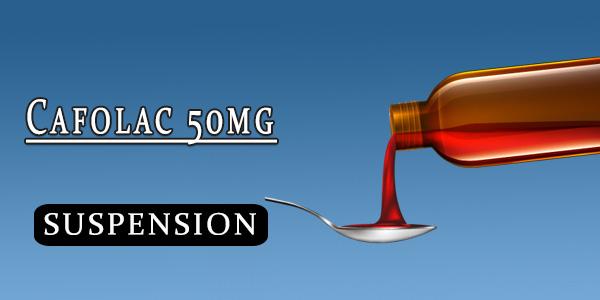 Cafolac 50mg Oral Suspension