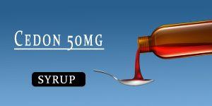 Cedon 50mg Dry Syrup