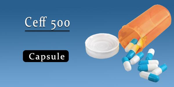 Ceff 500 Capsule