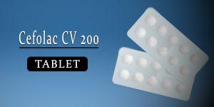 Cefolac CV 200 Tablet