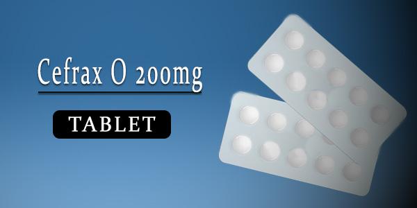 Cefrax O 200mg Tablet