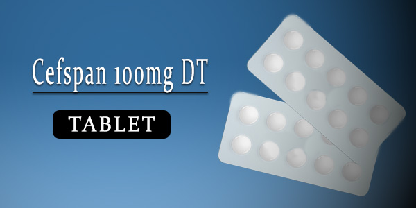 Cefspan 100mg Tablet DT