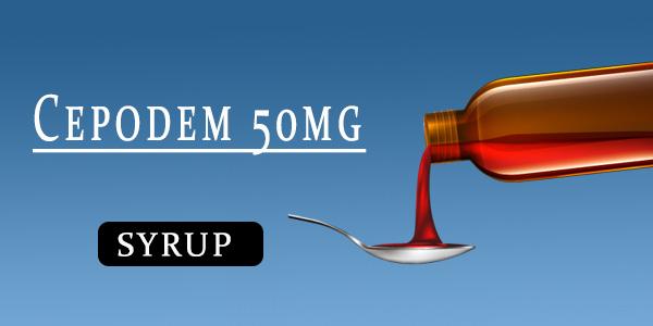Cepodem 50mg Syrup