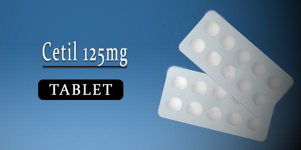 Cetil 125mg Tablet