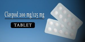 Clavpod 200 mg-125 mg Tablet