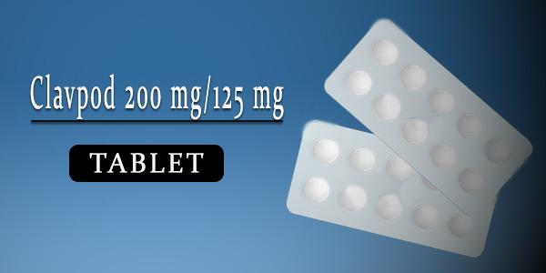 Clavpod 200 mg-125 mg Tablet