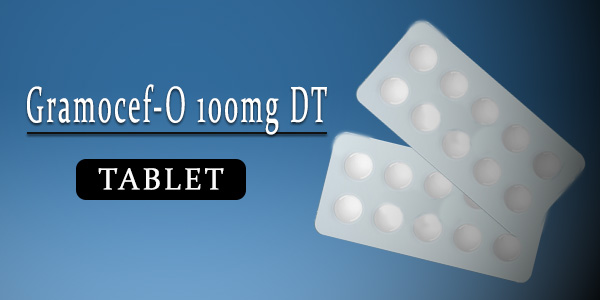 Gramocef-O 100mg Tablet DT