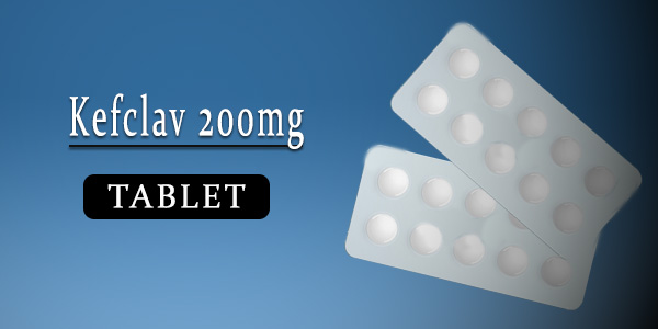 Kefclav 200mg Tablet