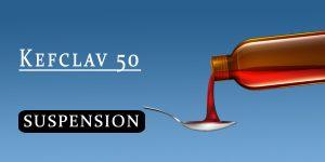 Kefclav 50 Oral Suspension