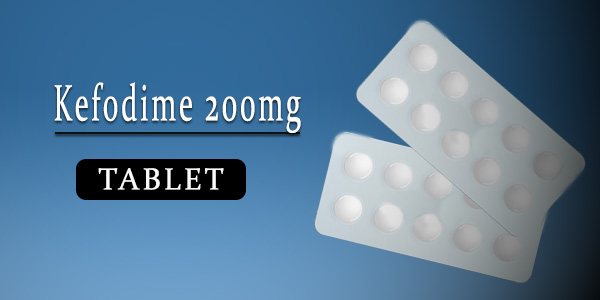 Kefodime 200mg Tablet