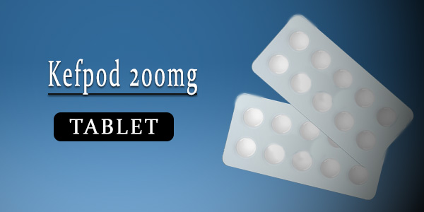 Kefpod 200mg Tablet