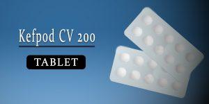 Kefpod CV 200 Tablet