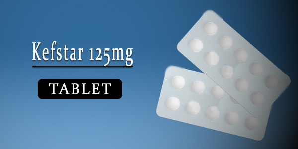 Kefstar 125mg Tablet