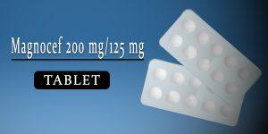 Magnocef 200 mg-125 mg Tablet