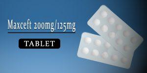 Maxceft 200 mg-125 mg Tablet