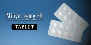 Minym 45mg Tablet ER