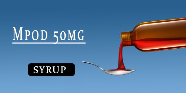 Mpod 50mg Dry Syrup