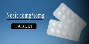 Nosic 10mg-10mg Tablet